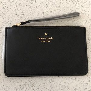 🎉 TODAY ONLY 🎉 BNWT - Kate Spade Black Wristlet